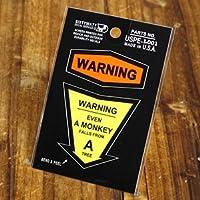 コトワザイクイップメントステッカー PROVERB EQUIPMENT DECALS 「猿も木から落ちる」_SC-USPEL001-SXW