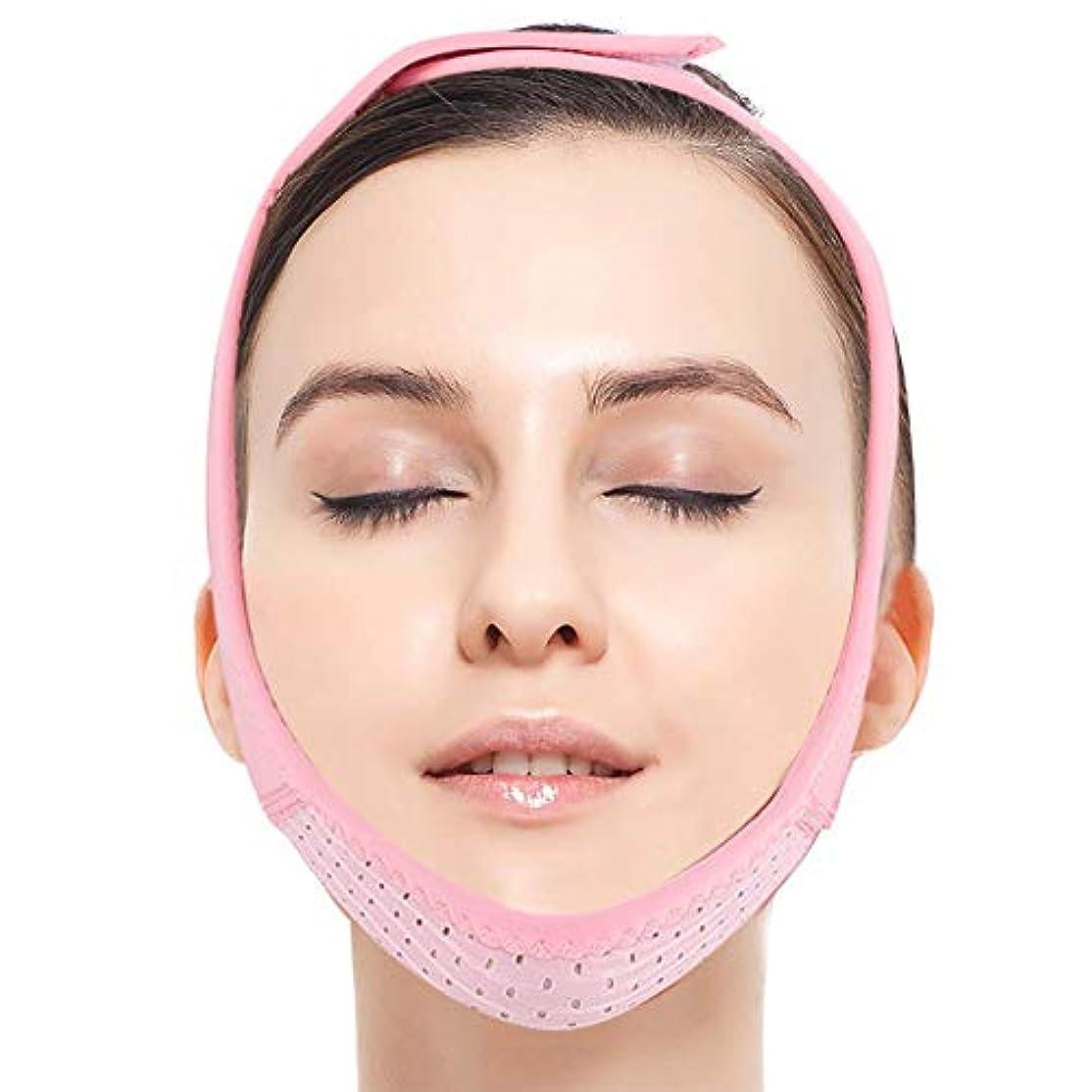 倫理思いやりのある裸女性のための顔のリフティングベルト、顔のリフティングスリミング弾性ベルト、Vラインチンチークリフトアップバンド、二重あごケア減量Vフェイスアンチリンクル