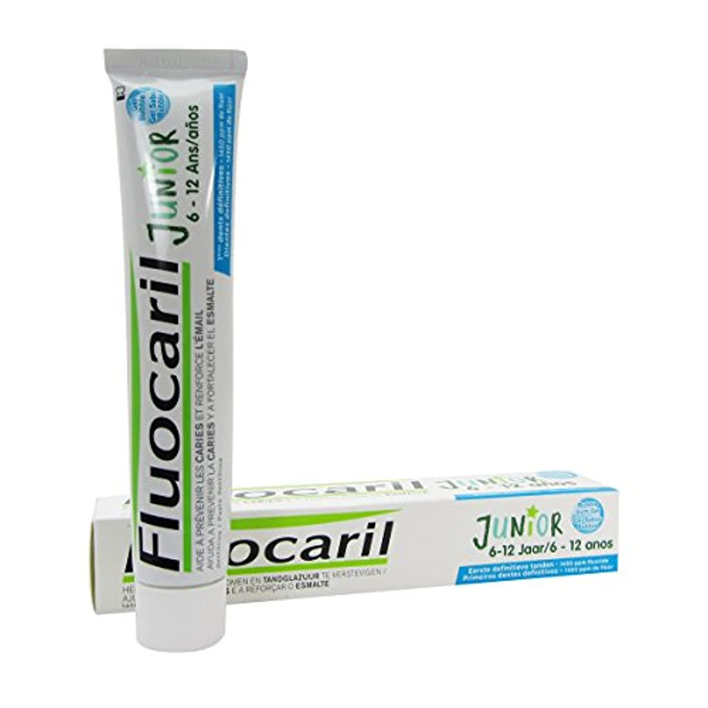速記贅沢ハングFluocaril Junior 6 To 12 Bubble Dentifrice Gel 75ml [並行輸入品]