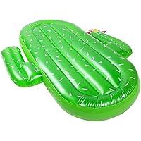 インフレータブルサボテンフローティングベッドポンツーン水泳フローティングビーチ水泳用品水インフレータブル浮遊列