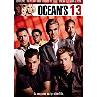 Ocean's Thirteen - Brad Pitt as Rusty Ryan; George Clooney as Danny Ocean; Matt Damon as Linus Cal DVD