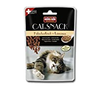 Animonda Cat Snack Chicken Meat Plus Green-Lipped Mussel 45 g Pack of 6