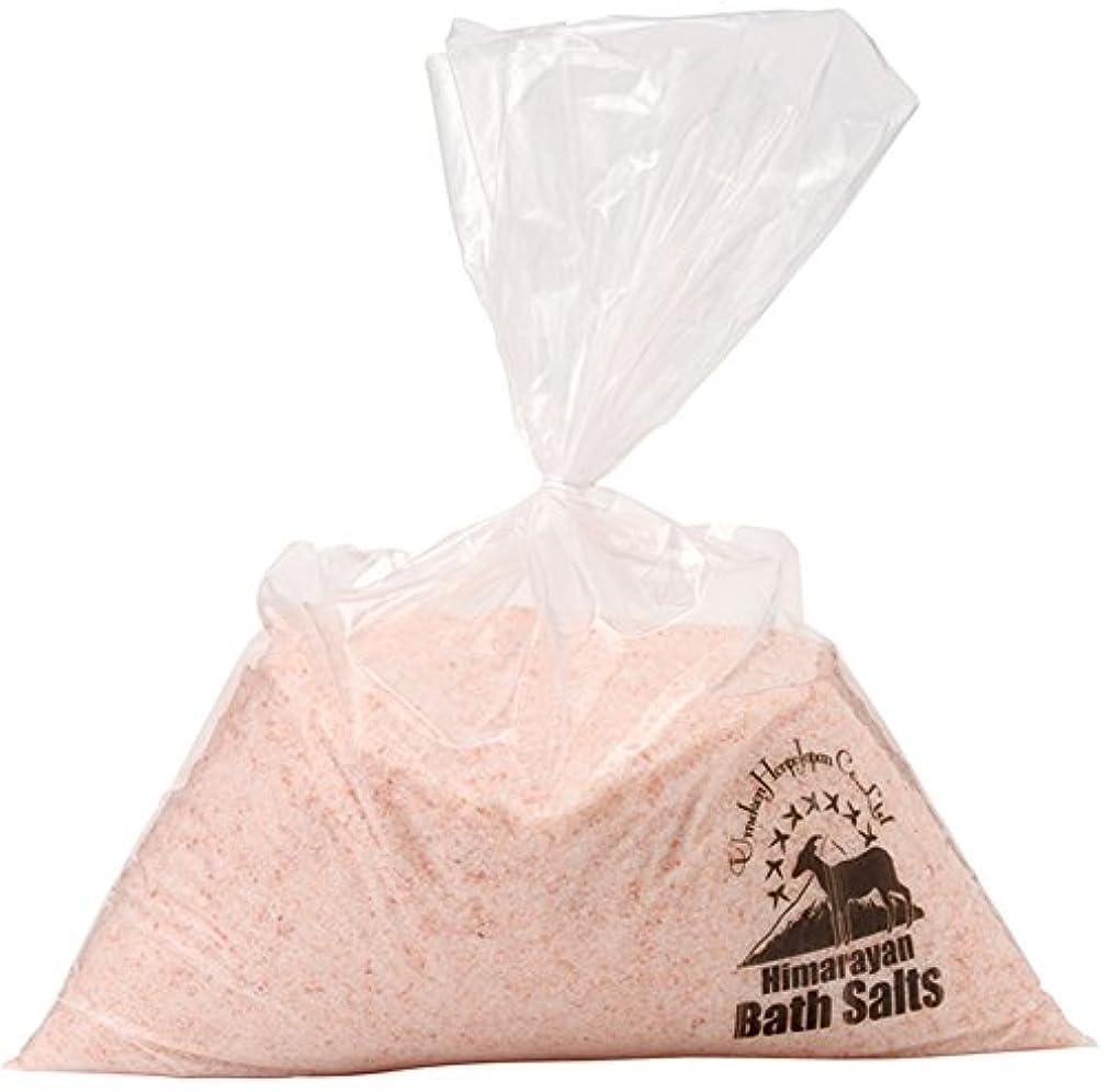 ちょっと待って変装した完了ヒマラヤ岩塩 バスソルト ピンク あら塩 5kg