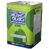 ニッペ 水性ファインウレタン 標準色 1液 水性 ウレタン 艶有(ND-108 15Kg 缶)