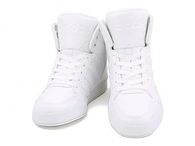 [アディダス] adidas メンズ ハイカット スニーカー 限定モデル ネオビッグタン 2 NEOBIG TANN 2 AW4534 ランニングホワイト/ランニングホワイト/ランニングホワイト 26.5cm