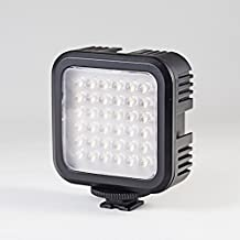External Photo/Video 36*LED Light with Adjustable Brightness, Build-in Li-ion Accumulator, Universal USB Charging Cable