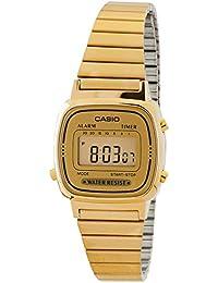 [カシオスタンダード]CASIO STANDARD 腕時計 CASIO STANDARD デジタル LA-670WGA-9 レディース 【逆輸入品】