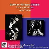 ドイツのヴィルトゥオーソ・チェリスト / ルートヴィヒ・ヘルシャー & アニア・タウアー (German Virtuoso Cellists / Ludwig Hoelscher & Anja Thauer) [CD] [Import] [日本語帯・解説付]