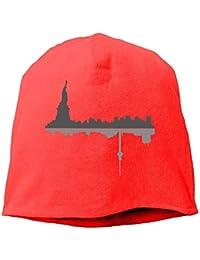 MKLOS Top Level Beanie Hat Knit Hat New York City Cotton Skull Cap,ニット帽 ビーニー オールシーズン Unisex
