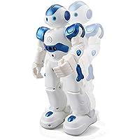ロボットおもちゃ ラジコンロボット 人型ロボット 男の子おもちゃ 女の子おもちゃ プログラム機能 ジェスチャ・手振り制御 歩く/ダンス/ソング 誕生日 子供の日 クリスマスプレゼント 日本語&英語取扱説明書付き