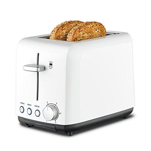 Kambrook Wide Slot Toaster, 2-Slice, White KTA120WHT