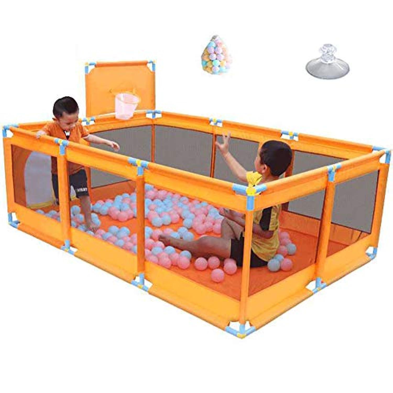 ベビーサークル 室内子供用プレイグラウンド遊び場ホーム子供用セーフティフェンスポータブルベビーゲーム遊び場200個のボール (サイズ さいず : Style-2)