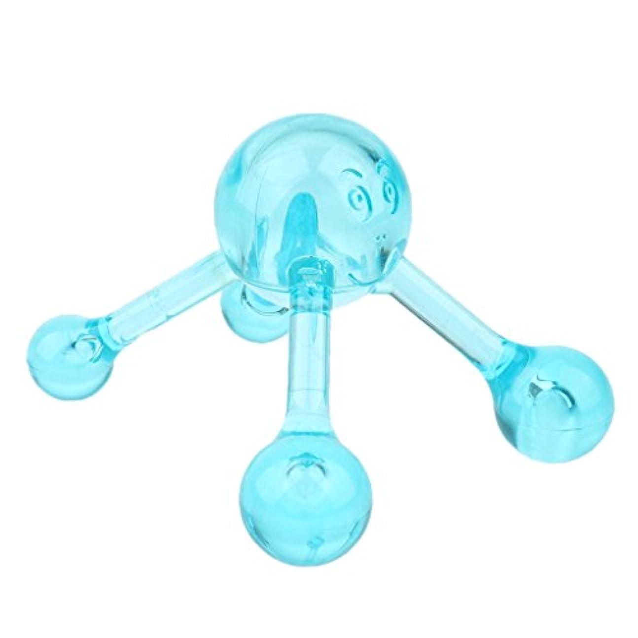 合計制限された特許マッサージツール ネック ショルダー アーム レッグ バック マッサージボール マニュアルローラー