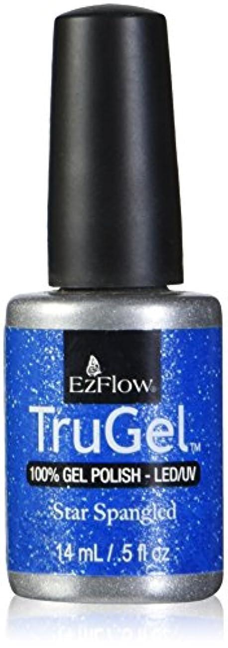 ハイブリッド等しいそのようなEzFlow トゥルージェル カラージェル EZ-42442 スタースパングルド 14ml