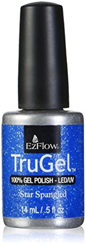 致命的な分散腐食するEzFlow トゥルージェル カラージェル EZ-42442 スタースパングルド 14ml