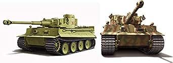 フジミ模型 1/72 ミリタリーシリーズ No.5 ドイツ陸軍 重戦車 ティーガ―I 初期型 2両セット プラモデル ML5