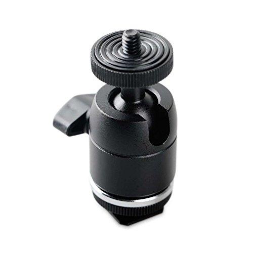 SMALLRIG 新版!自由雲台(1/4ネジシュー付き)最大荷重:3kg キヤノン、ニコン、オリンパスペンタックス、パナソニック、富士フイルム、コダックなどに対応 一眼レフカメラ用 DSLR 装備 DSLR Rigs DSLRリグ-1875 [並行輸入品]