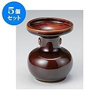 5個セット 雑器 松立4.5号 [10.5 x 13cm] お盆 供養 神事 お墓 仏壇 佛具
