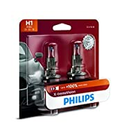 Philips H1 X-tremeVision Upgrade Headlight Bulb with up to 100% More Vision%カンマ% 2 Pack [並行輸入品]