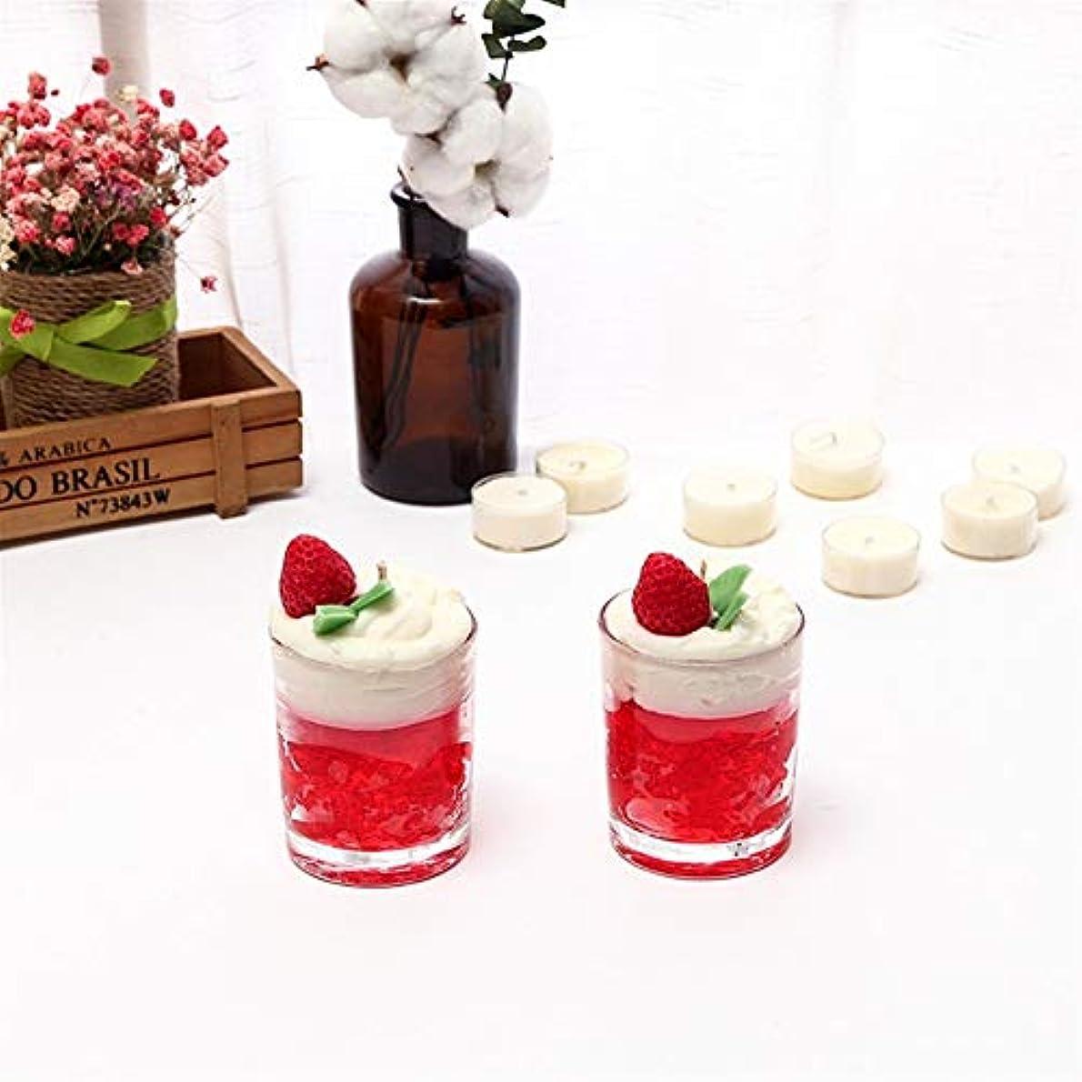 生命体最大工業化するZtian アイスクリームキャンドルシンプルなガラス瓶アロマセラピーガラスカップ無毒な環境保護 (色 : Marriage)
