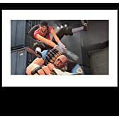 LIMITED EDITION - TEAM FORTRESSはSCOUTのリトグラフを満たす  TEAM FORTRESS MEET THE SCOUT LITHOGRAPH - LIMITED EDITION