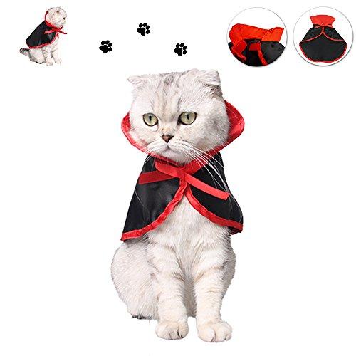 ペット服 犬 ワンチャン 猫 ハロウィン コスチューム 2win2buy 仮装 ペット 衣装 小型犬 小動物 バンパイア 吸血鬼 マント