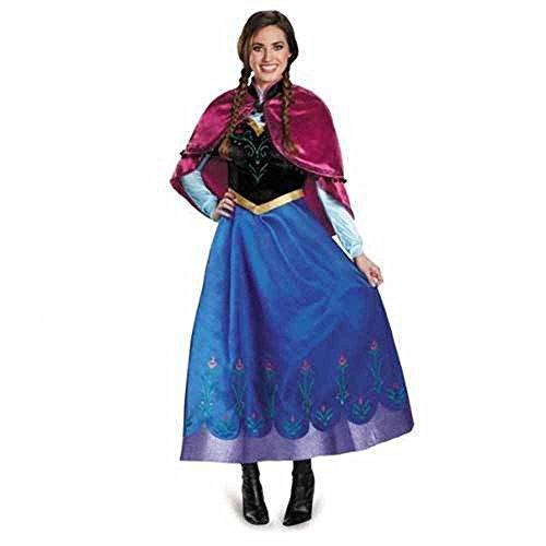 「zodeac」アナと雪の女王 アナ ドレス 大人用 コスチューム レディス Mサイズ