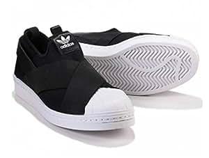 adidas (アディダス) オリジナルス スーパースター スリッポン Superstar slip on ブラック (22cm) [並行輸入品]