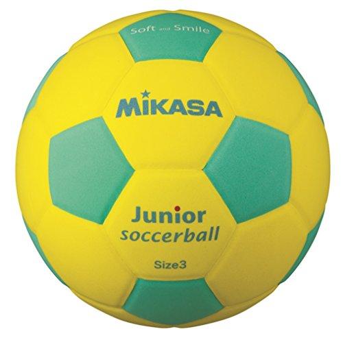 ミカサ スマイルサッカー軽量3号 黄/緑 SF3J-YLG