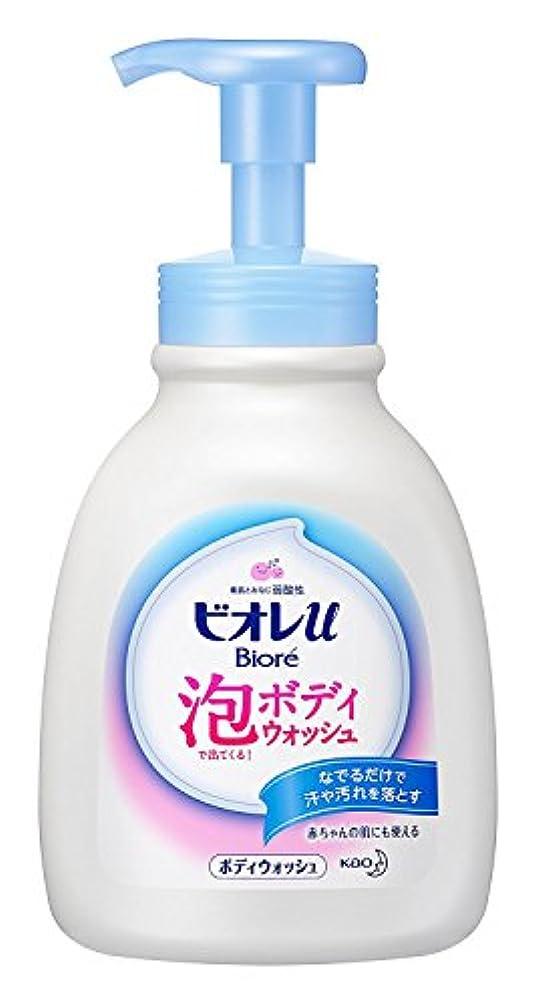 特異な天窓掃除【花王】ビオレu 泡で出てくるボディウォッシュ ポンプ 600ml ×20個セット
