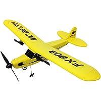 2ch セスナ型 ラジコン 33cm の ビッグサイズ パイパー J-3 カブ 電動 飛行機