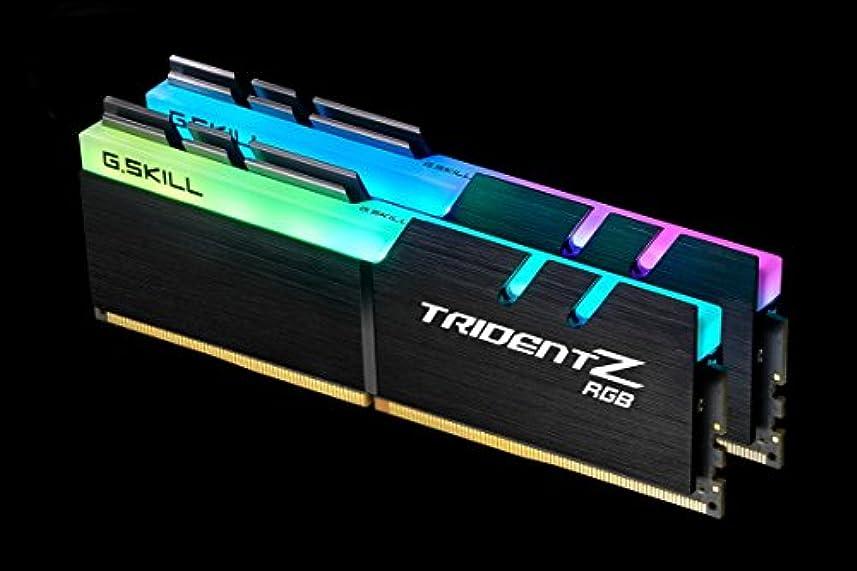 傾く意志意味するG.Skill DDR4メモリ DDR4-4133 16GBKit(8GB×2枚組)国内正規品 OVERCLOCK WORKS購入限定特典ステッカー付き F4-4133C19D-16GTZR