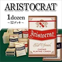 ARISTOCRAT[ポーカーサイズ] 1ダース 〈簡易梱包