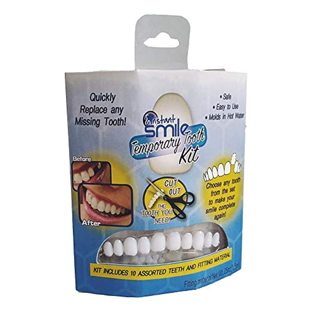 異常な野なお世話になったLITI 歯のソケット 美容義歯 入れ歯 歯のカバー テンポラリートゥースキット シリコーンのシミュレーションの歯科用義歯を白くする上下の歯の模擬装具 歯ホワイトニング 義歯貼り付け偽歯アッパー化粧品突き板