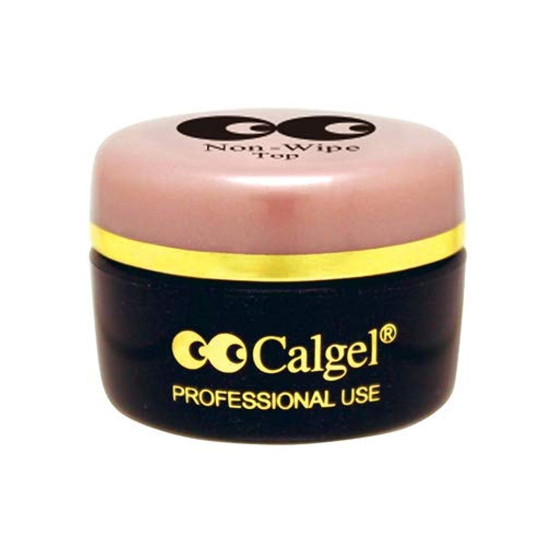 ガス分類する先にCalgel カルジェル ノンワイプトップジェル3.5g 【ジェル/クリアジェル?ネイル用品】