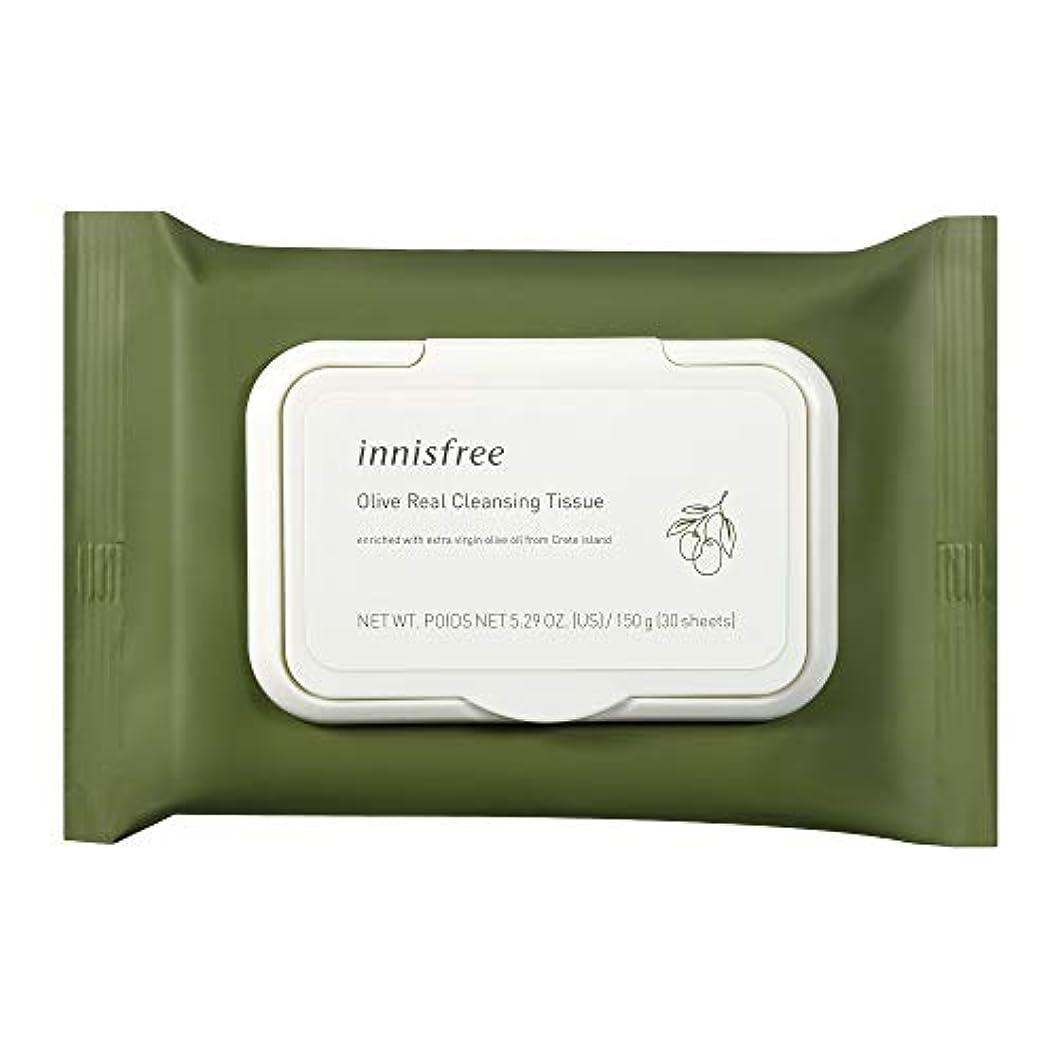 松の木階層クリームイニスフリー(innisfree) オリーブリアル クレンジングティッシュ 新パッケージ 30枚