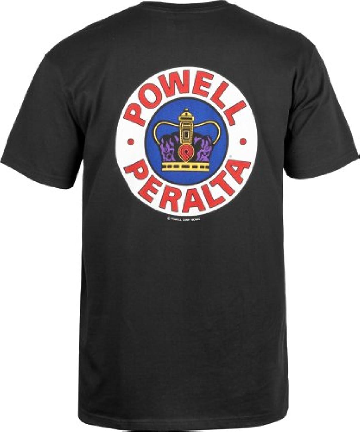 小切手転倒ダウンタウン(パウエル) POWELL SUPREME シュプリーム Tシャツ 黒 S