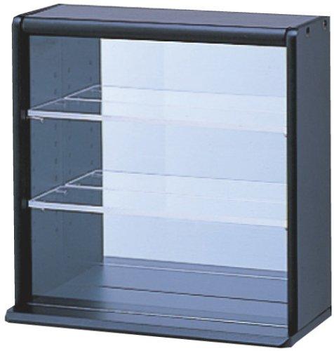 コレクションケース ミニ 透明アクリル棚板タイプ ブラック