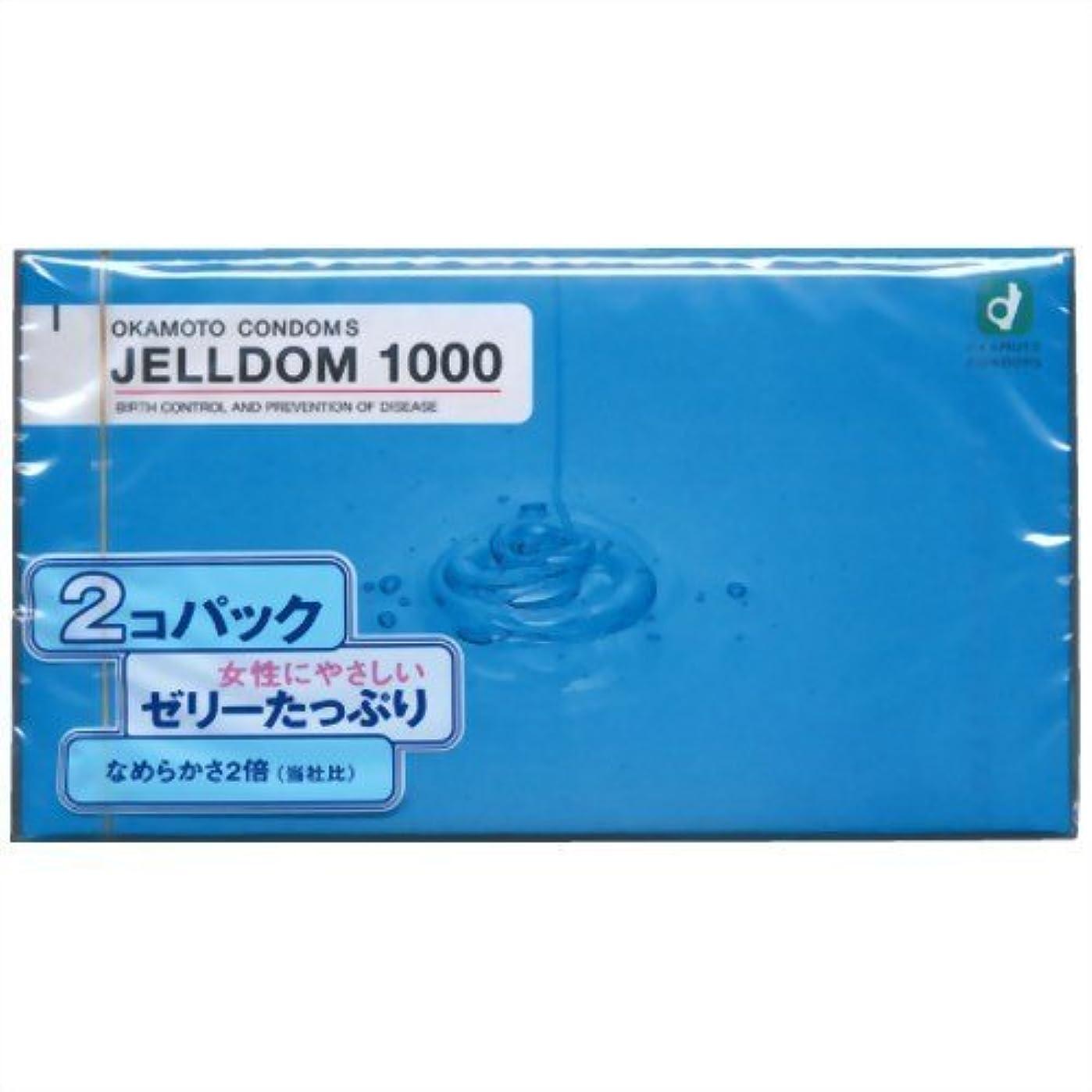 オカモト コンドーム ジェルドーム 1000 12個入×2箱パック