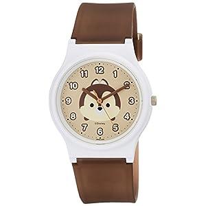 [シチズン キューアンドキュー]CITIZEN Q&Q 腕時計 ディズニー コレクション TSUMTSUM チップ ウレタンベルト ブラウン HW00-005 ガールズ