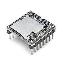 UIOTEC TFカード Uディスクミニ MP3プレーヤー オーディオ 音声 モジュールボード Arduino DFPlayに対応