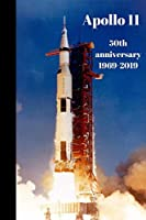 Apollo 11 50th anniversary 1969 - 2019: Launchpad photograph, Saturn V rocket blast off (6 x 9 Lined Notebook, 110 pages)