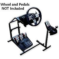 Logitech ロジクール ホイールスタンド G29 G27 G25 Racing Wheel Stand レーシングホイールス [並行輸入品]