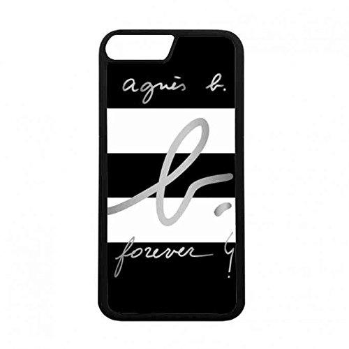 ファッションブランド アニエスベー Logo iPhone 7 ケース、薄型 防塵 シリコーン iPhone 7 ケース、iPhone 7 ケース、耐スクラッチ 女性 TPU iPhone 7 ケース、アニエスベー TPU iPhone 7 ケース