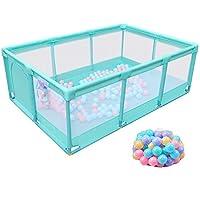 ベビープレイペン 大型子供用フェンス屋内ベビーセーフティ幼児3色オプション+200マリンボール (色 : Style3)