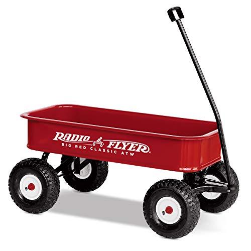 Radio Flyer ラジオフライヤー ビックレッドクラシックワゴン Big Red Classic ATW 1800 2人乗り キャリーワゴン カート 折りたたみハンドル