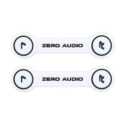 ZERO AUDIO ヘッドホンクリップ ホワイト/ブラック ...