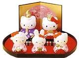【雛人形】ハローキティ 雛飾りセット