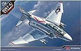 アカデミー 1/48 アメリカ海軍 F-4J ファントムII VF-102 ダイヤモンドバックス プラモデル 12323
