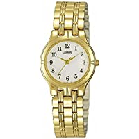 Lorus Ladies Gold Bracelet Watch - Model RRS12BX-9 4894138328183